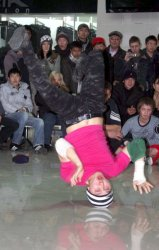 BBoy battle!